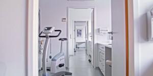 Gemeinschaftspraxis für Herz- und Gefäßkrankheiten in Mannheim Behandlungszimmer